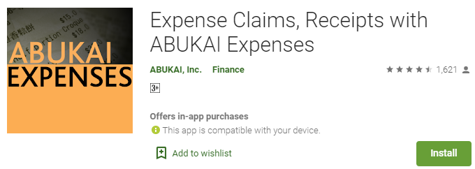 Abukai Expenses App